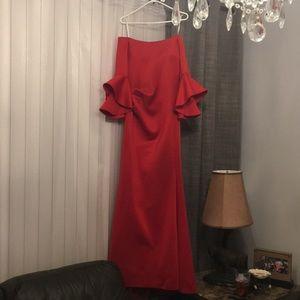 6260a35511cff Lord & Taylor Dresses | Elegant Betsy Adam Red Dress | Poshmark